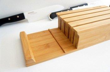 Cutite Metalice Suport de bambus pentru cutite - ChefCruceanu.ro