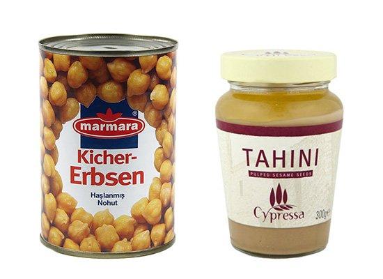 Naut si Tahini pentru reteta de Hummus