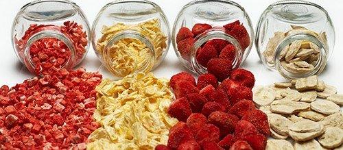 Fructe-liofilizate