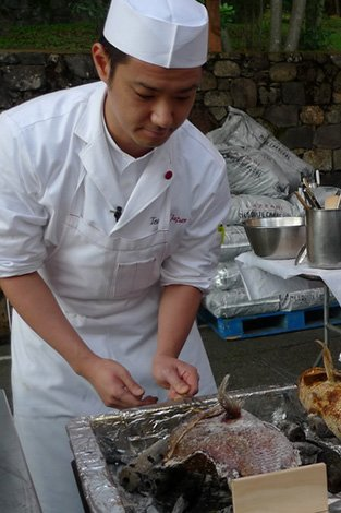 Chef Yoshihiro TAKAHASHI