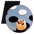 Folie cu Forme de Cilindri / Cylindres, Ø 40 x H 20 mm, FLEXIPAN®, 600 x 400 mm