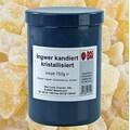Ghimbir Confiat, Uscat Cristalizat, Cuburi, 750 g - Bos Food, Germania