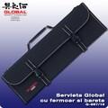 Servieta Solida din Nylon pentru Cutite, 16 buzunare - Global, Japonia