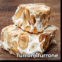 TURON (nuga) - produse de cofetarie traditionale