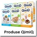 Produse QimiQ - Naturale, pe baza de smanatana, continut redus de grasime