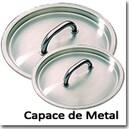Capace de Metal pentru oale si cratite