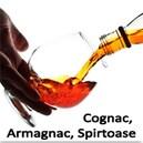 Cognac, Armagnac, Spirtoase
