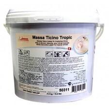 Massa Ticino Tropic - Fondant pentru Decorat Torturi, Alb, pentru Medii Umede-Calde, 7 Kg - Carma