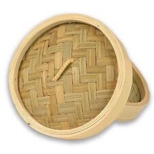 Capac pentru Cos din Bambus pentru Gatit la Abur, ø 15cm exterior, ø 13cm interior, 6 inch