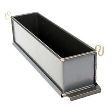 Forma Neteda pentru Terina, Metal Anti-Aderent, L 30cm x l 7cm x h 8,5cm - Exopan