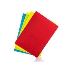 Set 4 Folii de Tocat Flexibile (Cutting Mat): Galben, Albastru, Verde, Rosu, 35 x 25cm - Rösle