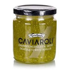 Caviaroli® - Caviar din Ulei Trufat cu Aroma de Trufe Albe, Perlage di Tartufo, 200 g - Tartuflanghe