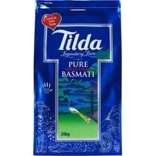 Orez Basmati Pur, Sac Practic cu Fermoar, 20Kg - Tilda