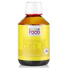 Colorant Alimentar Galben-Lamaie, Lichid, Vegan, 250g - Colour Food