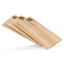 Wood Planks, Placi din Lemn de Cires (Cherry), pentru Gratar, 15 x 30 x 1,1 cm, 3 buc. - Axtschlag
