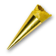 Mini-Cornete cu Curry, 70315, H: 7,5cm, Ø2,5cm, 180buc., 864g - Edna