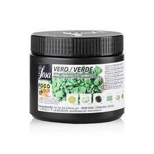 Colorant Alimentar Natural Verde, Pudra, Lipo si Hidrosolubil, Food Colour, 200g - SOSA