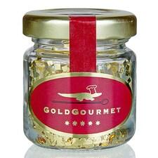 Patratele din Foita de Aur Comestibil, Quadratus, 23 Kt, 300mg - GoldGourmet, Germania