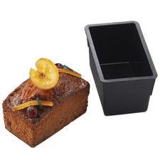 Forma Chec (Cake) Alungita, EXOGLASS®, 180 x 80 x 80mm - Matfer