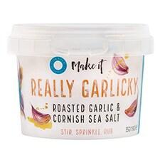 Fulgi de Sare de Mare cu Usturoi, Really Garlicky (Cornwall, Anglia), 55g - Cornish Sea Salt