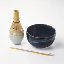Serviciu pentru Ceai Matcha, Izayoi, Set 4 piese - Japonia
