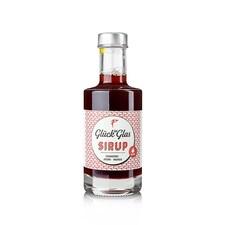 Sirop de Cranberry cu Artar si Ghimbir, 200ml - Glück im Glas