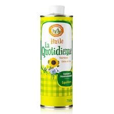 """Ulei Rafinat """"La Quotidienne"""", din Floarea Soarelui, Rapita si In, 750ml - La Tourangelle, Franta"""