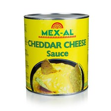 Cheddar Cheese Sauce, Mexic, 3Kg - Mex-Al