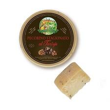 Pecorino al Tartufo Premium, Branza de Oaie cu Trufe, Picanta, Maturata  2 Luni, ca. 650 g - Caseificio Nuovo, Italia