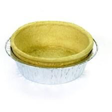 Coji din Aluat pentru Quiche, in Tavita de Aluminiu, ø11cm, h 3,7 cm, 42buc., 1,85Kg - Pidy