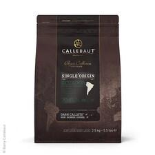Ciocolata de Patiserie (Couverture) Neagra, Single Origin Ecuador, pastile, 70,4% Cacao, 2,5Kg - Callebaut