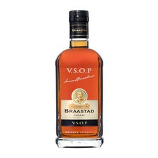 Cognac - BRAASTAD VSOP, Franta, 40% vol., Cutie Cadou, 1 l