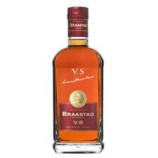 Cognac - BRAASTAD VS, Franta, 40% vol., Cutie Cadou, 1 l