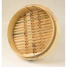 Cos din Bambus pentru Gatit la Abur, ø 30 cm exterior, ø 28 cm interior, 12 inch