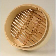 Cos din Bambus pentru Gatit la Abur, ø 20 cm exterior, ø 18 cm interior, 8 inch