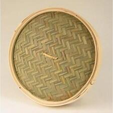 Capac pentru Cos din Bambus pentru Gatit la Abur, ø 30 cm exterior, ø 28 cm interior, 12 inch