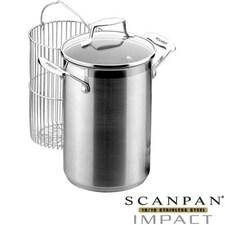 Oala cu cos si capac pentru sparanghel/porumb (4,5 L - 16 cm) - IMPACT - Scanpan