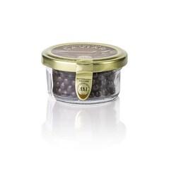 Caviar de Ciocolata - Perle din Ciocolata Amaruie cu Umplutura de Biscuiti Crocanti, 30 g - AKI, Germania