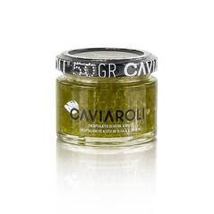 Caviaroli® - Caviar din Ulei de Masline cu Busuioc, Verde, 50 g - Spania