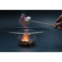 Farfurie Vulcano XL, Rezistenta la Foc, 28 cm - 100% Chef, Spania