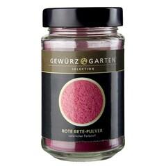 Pudra de sfecla rosie este un colorant complet natural si este aproape insipida.