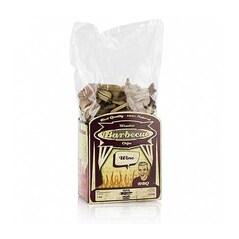 Chips-uri pentru Afumare, Lemn de Stejar Aromatizat cu Vin Rosu, 1Kg - Axtschlag