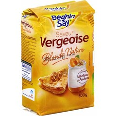 Zahar Vergeoise Blond, 500g - Beghin Say