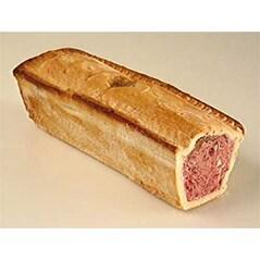Pâté de Cerb, cu Bucati de Carne si Alune de Padure, Crusta din Aluat, Congelat, 500g - Swiss Gourmet