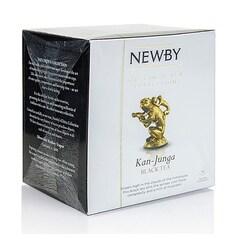 Ceai Negru Kan-Junga, Silken Pyramids, 15 buc, 37,5 g - Newby