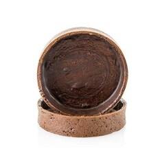 Coji Dulci pentru Tarte (ø 81 x 19 mm), cu Ciocolata, 45 bucati - La Rose Noir