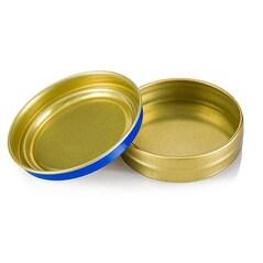 Cutie Caviar, Albastra, cu Capac, Fara Continut