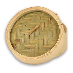 Capac pentru Cos din Bambus pentru Gatit la Abur, ø 13cm exterior, ø 11cm interior, 5 inch