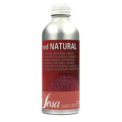 Colorant Alimentar Natural ROSU NATURAL, Lichid, 1 l - SOSA