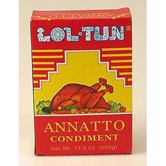 Condiment Annatto, Pasta, 500g - Lol-Tun